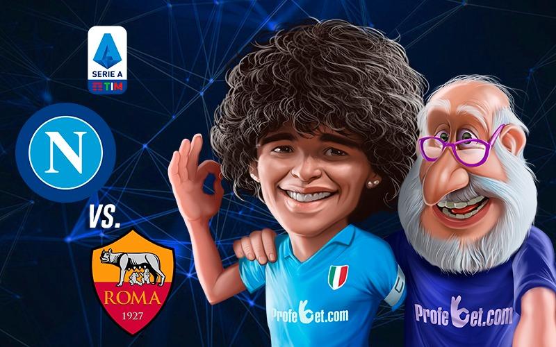 Nápoles vs AS Roma: honrar a Maradona con un buen partido